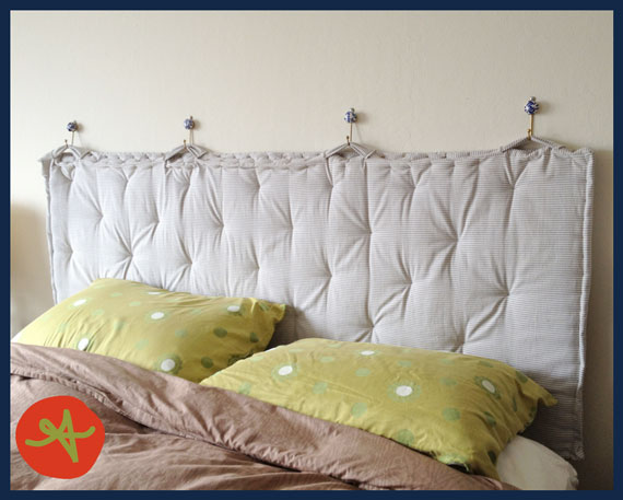 Pinterest Project: Padded Headboard